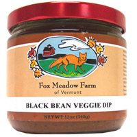 Spicy Black Bean Veggie Dip